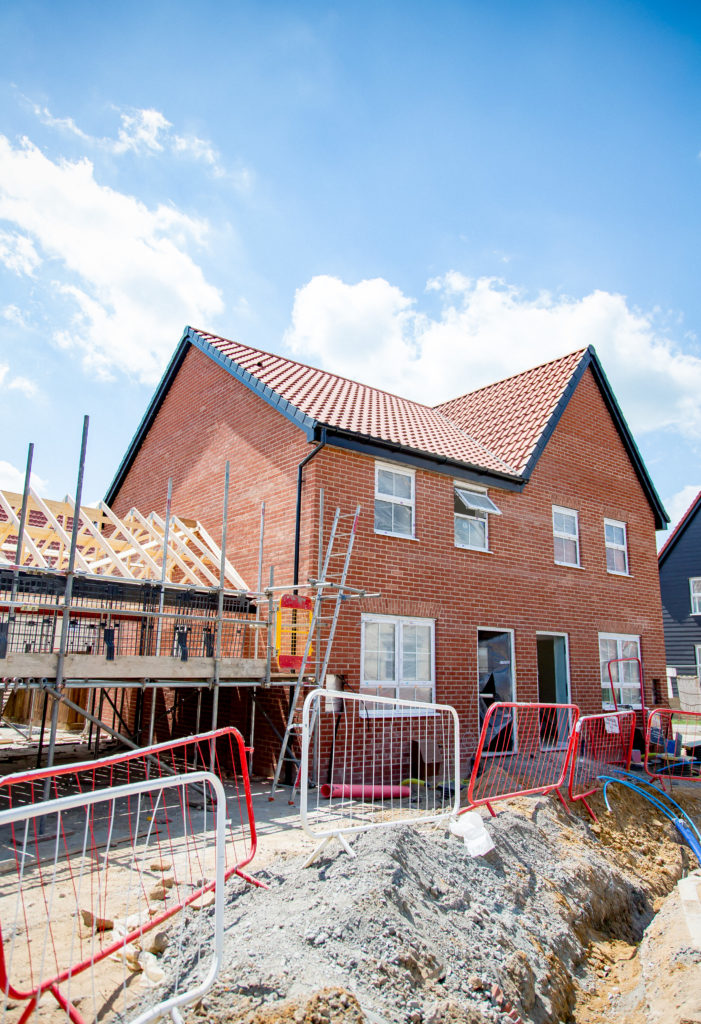 David Wilson Homes New Build Roof