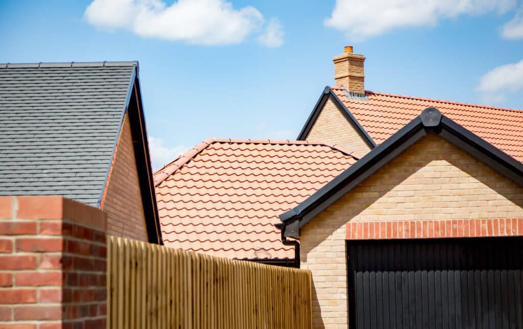 David Wilson Homes New Build Roof