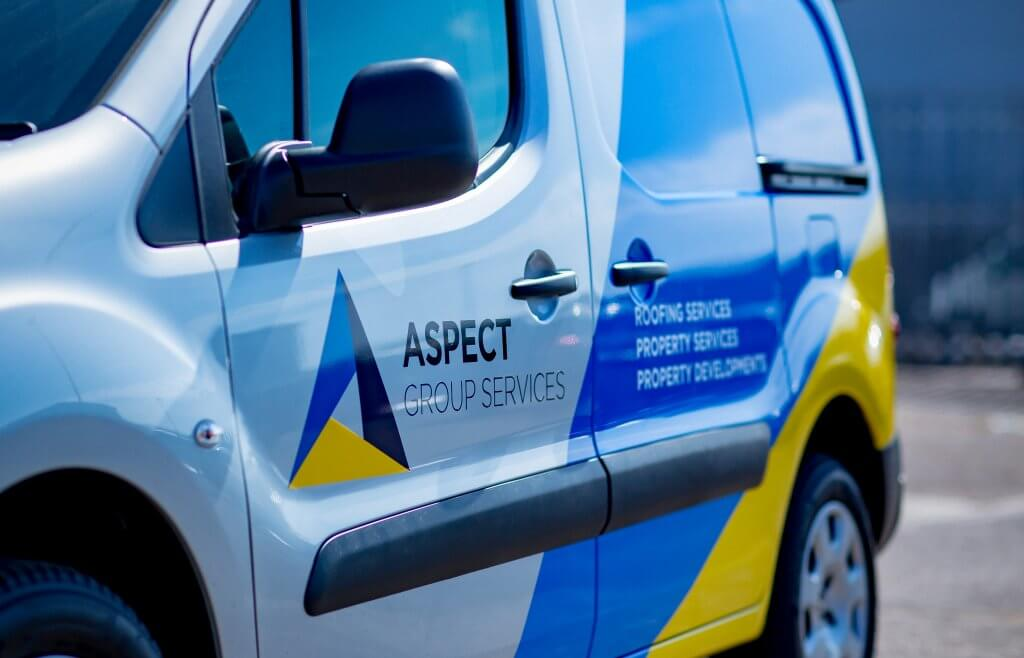 New Aspect Group Services Van
