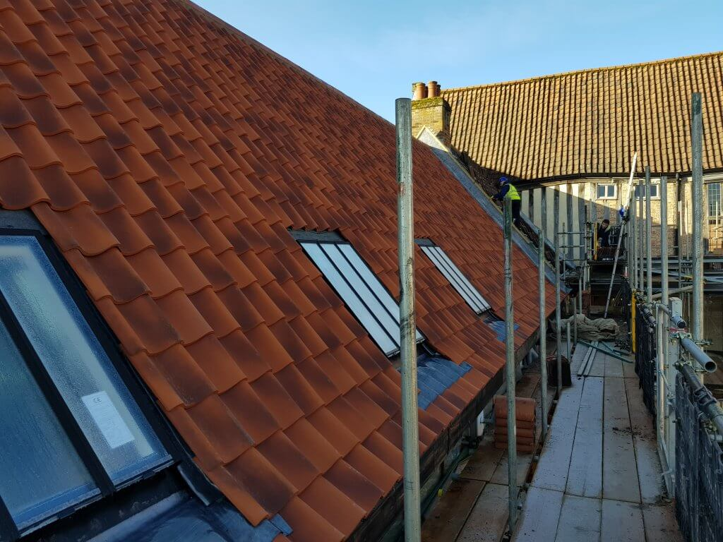 Re Roofing Works To Dragon Hall, Norwich by Aspect Roofing