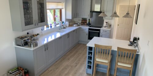 Redesign and Installation of Kitchen & Utility Areas