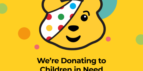 We're Donating to Children in Need